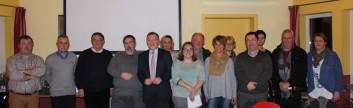 Lauréats, jury, bibliothécaires et participants