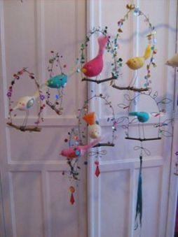 oiseaux avec nichoir